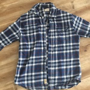 Blue flannel long Sleeve